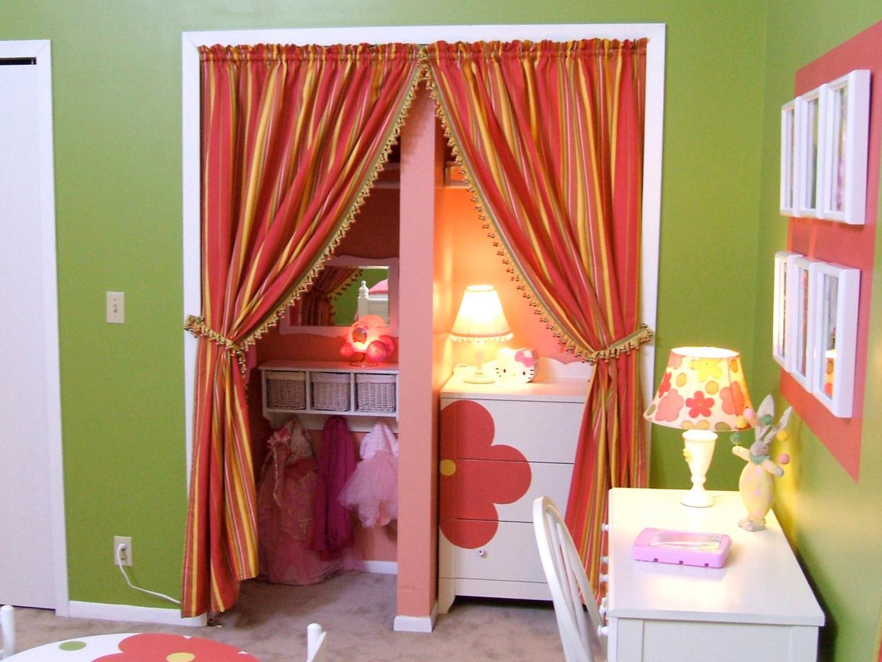 Межкомнатные шторы в детской