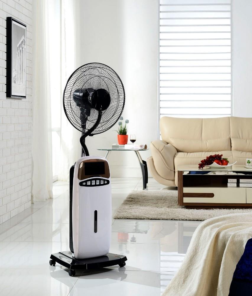 Напольный вентилятор с дисплеем