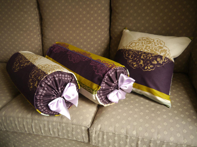 Подушка валик диванная