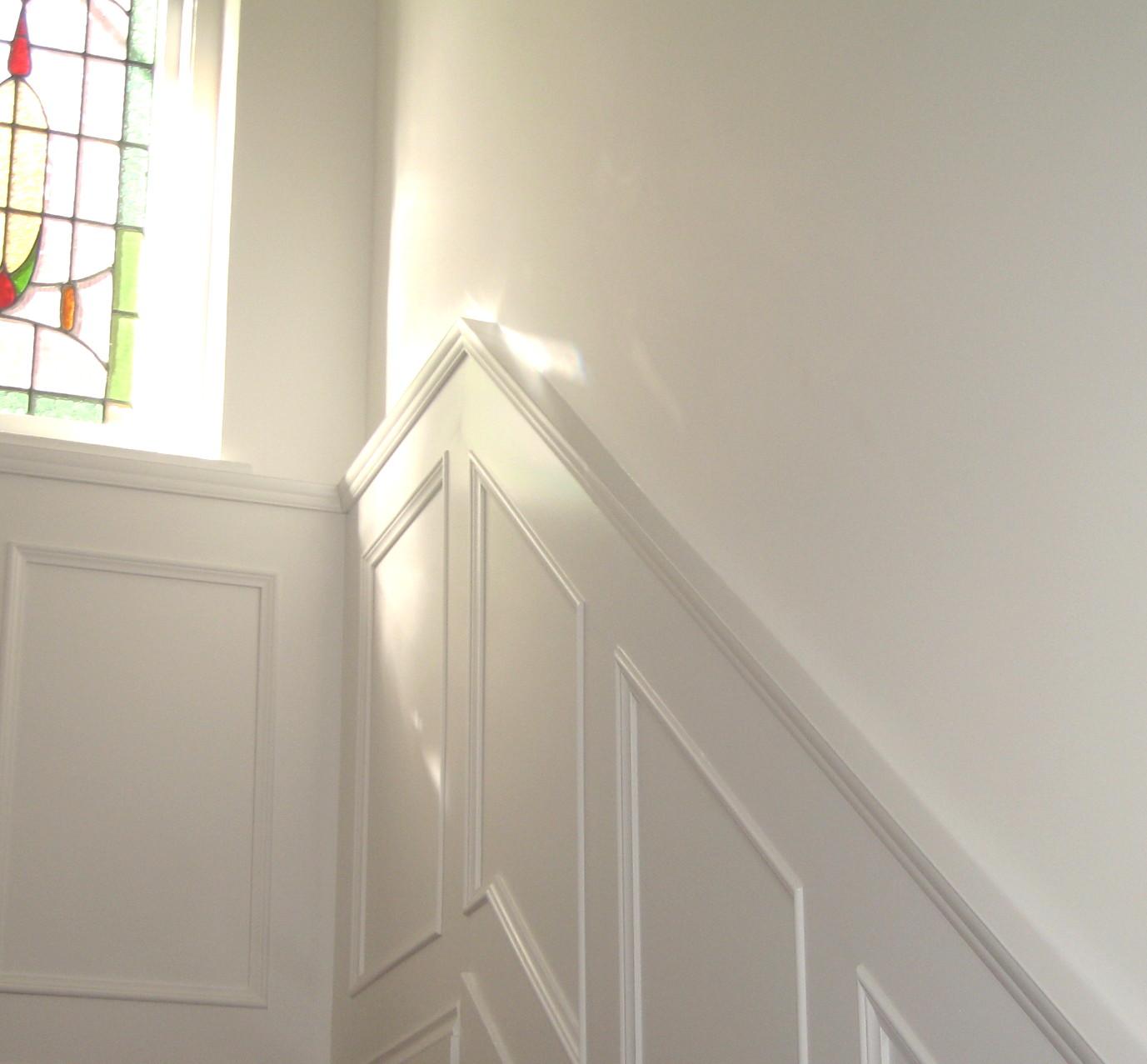 Стеновые панели в коридоре в интерьере дома