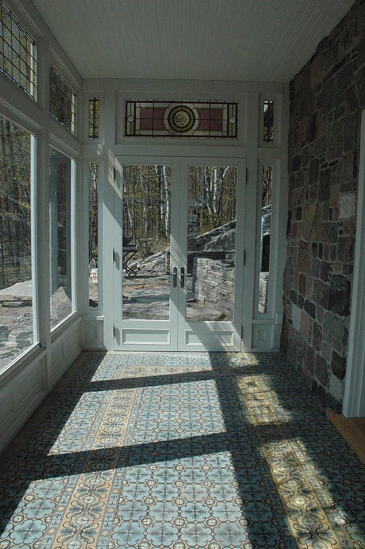 Метлахская плитка в интерьере дома
