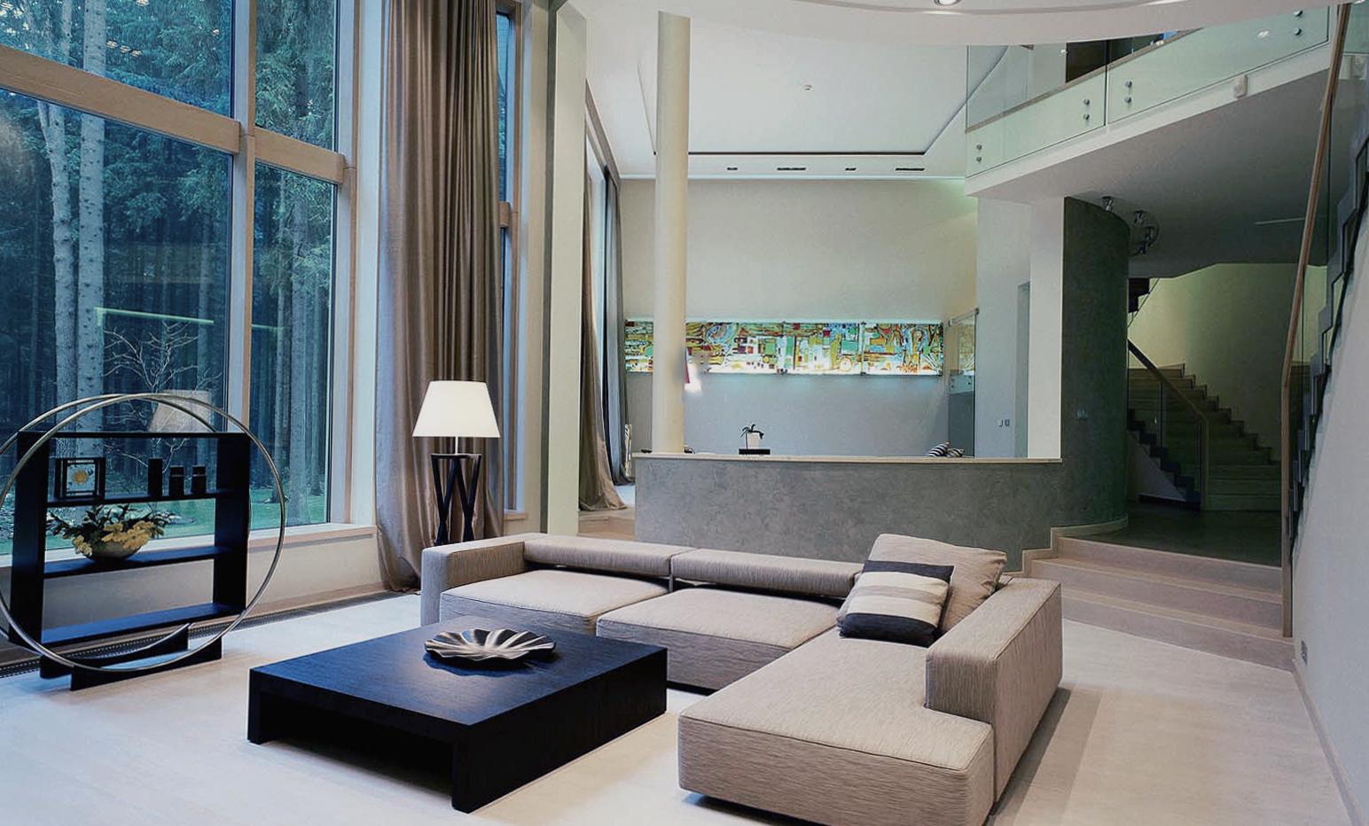 Дом в стиле конструктивизма