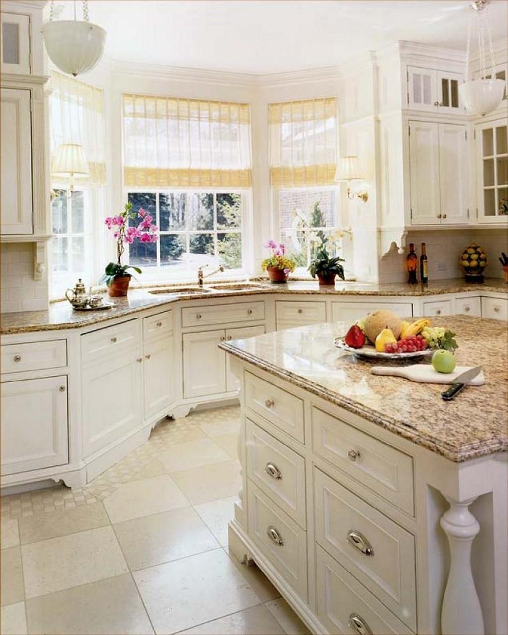Кухня с эркером в доме