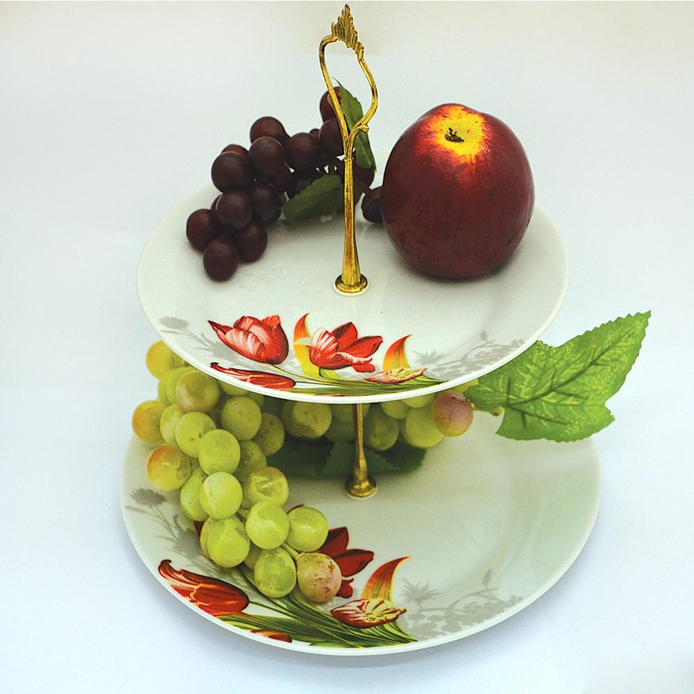 Двухэтажная фруктовница