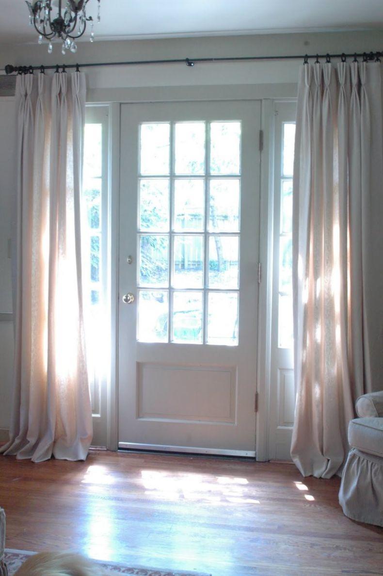 Межкомнатные шторы на дверь