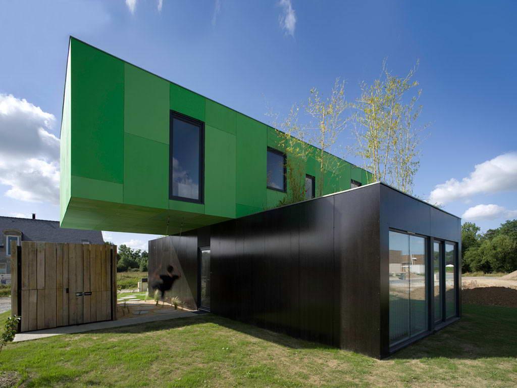 Экологичный дом из контейнеров