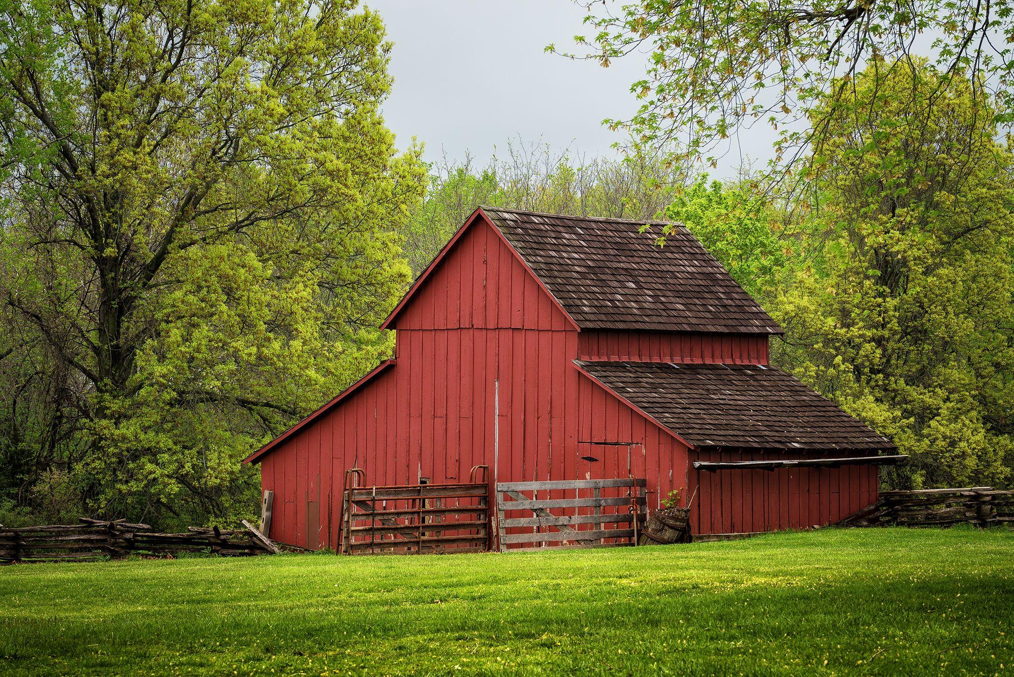 Фермерский хозблок