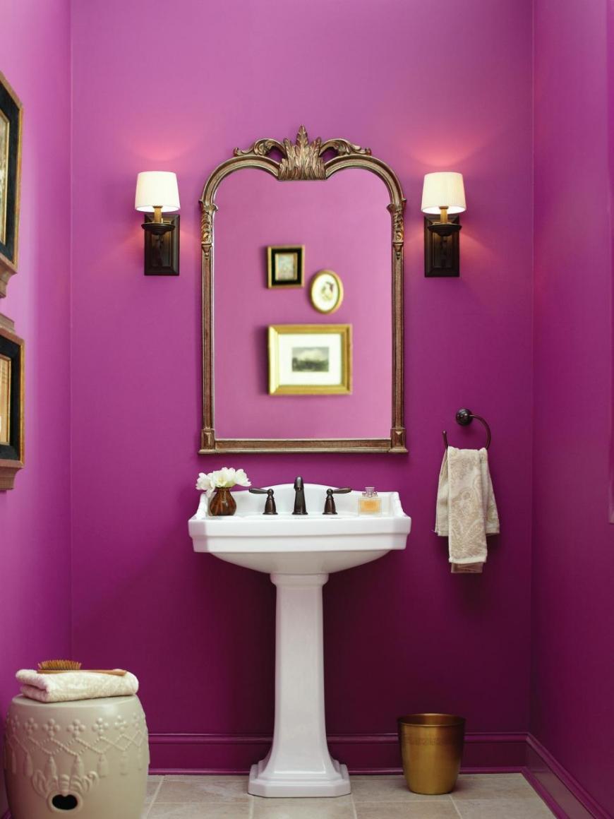 Глянцевая алкидная краска фиолетового цвета