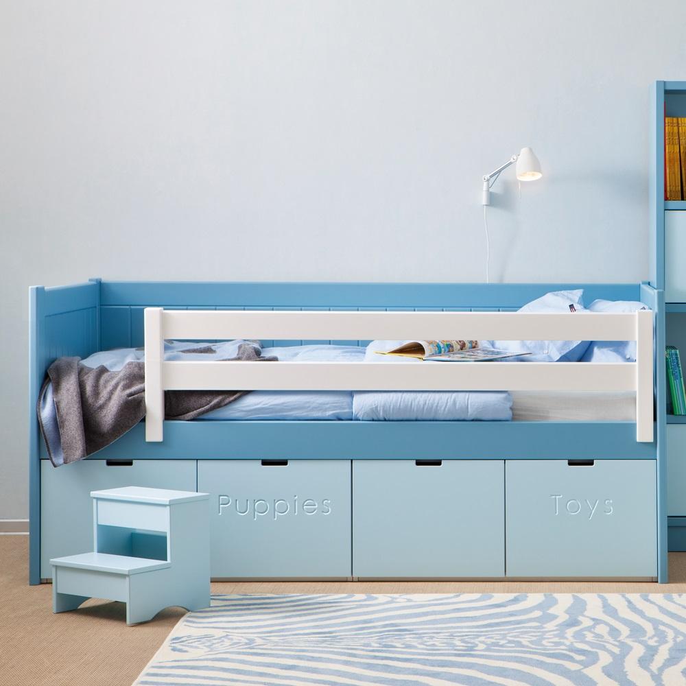 Детская кровать с бортиками: безопасность и сладкий сон (23 фото)