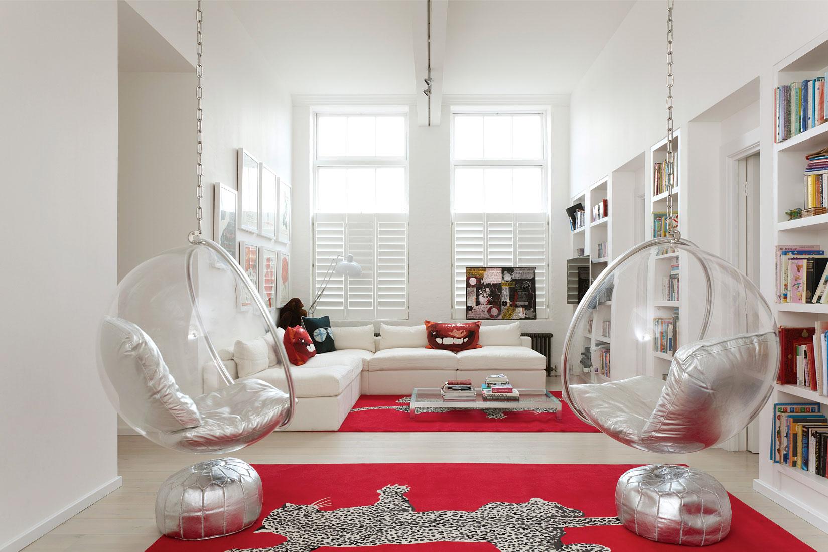 Кресло-шар – уютное место отдыха для всех гостей и домочадцев (24 фото)