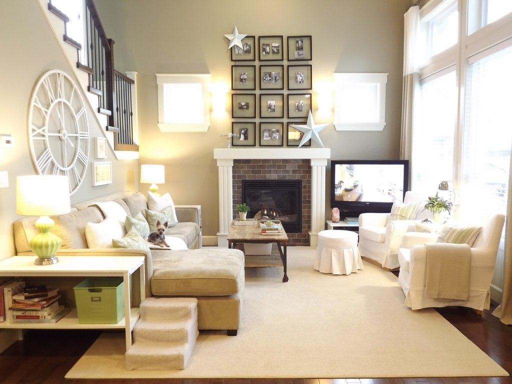 Тосканский стиль в интерьере гостиной