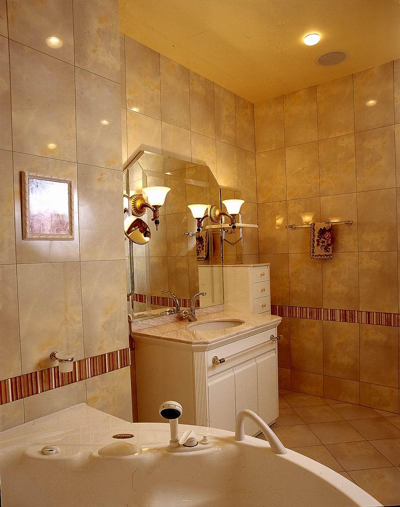 Вытяжка в интерьере ванной