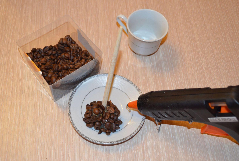 Изготовление поделок из кофе