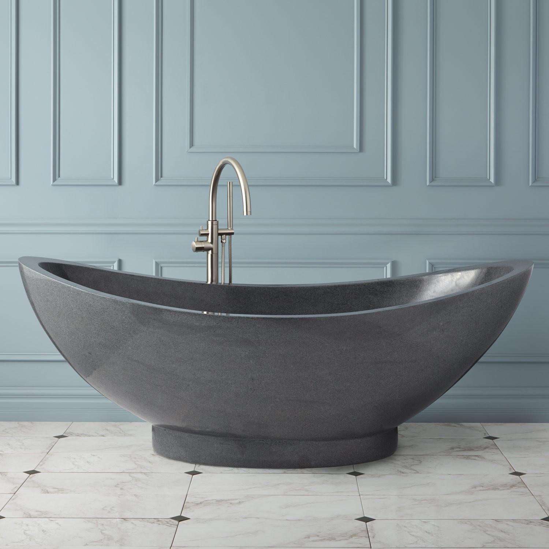 Реставрация каменной ванны
