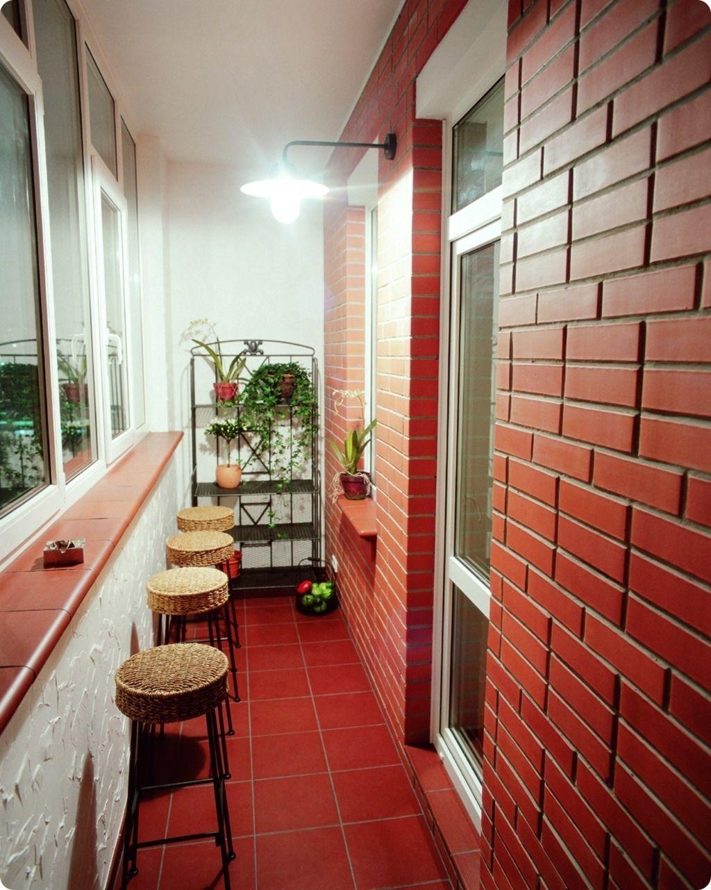 Утепление балкона кирпичного дома