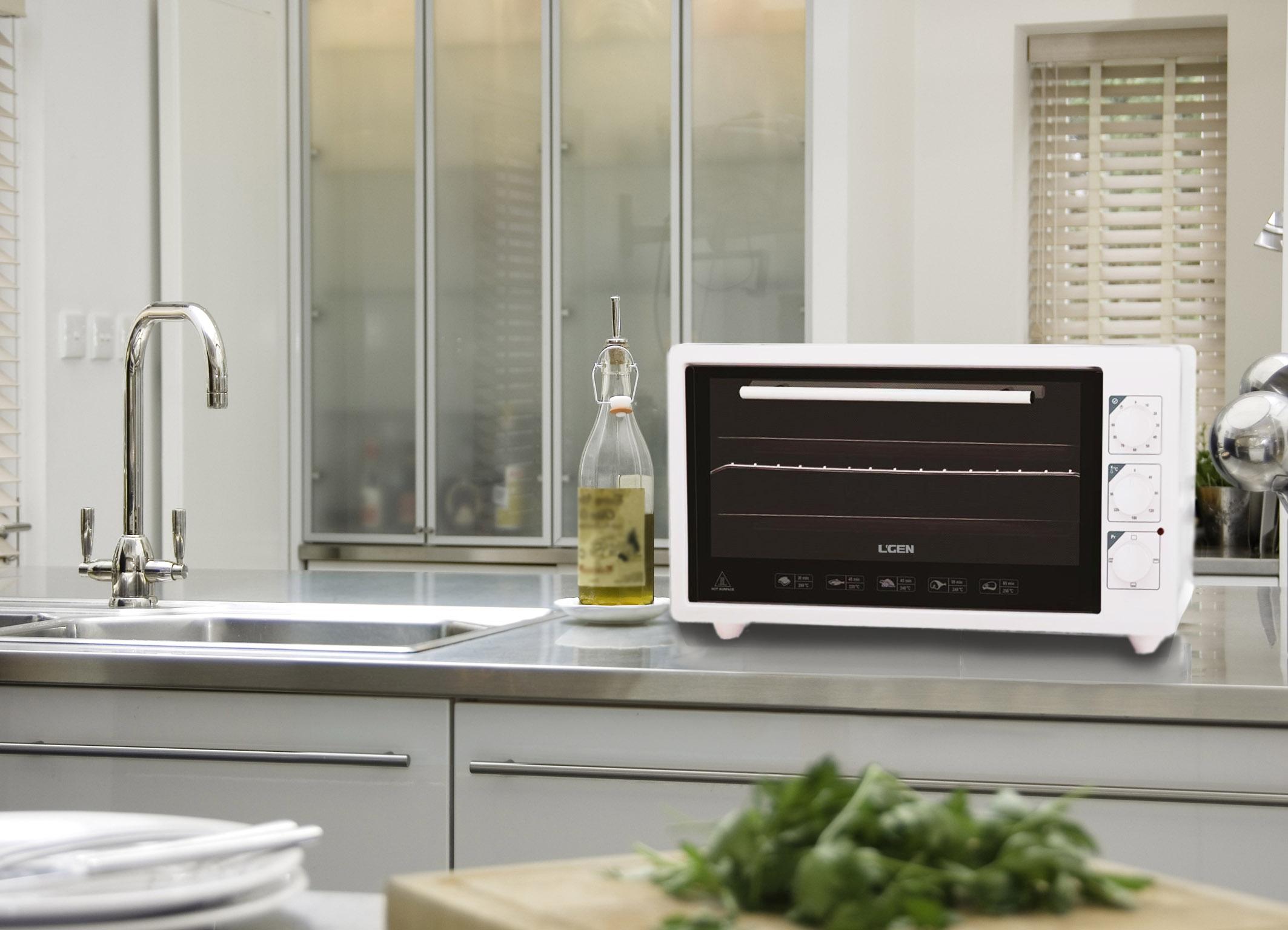 Мини-печь на кухне