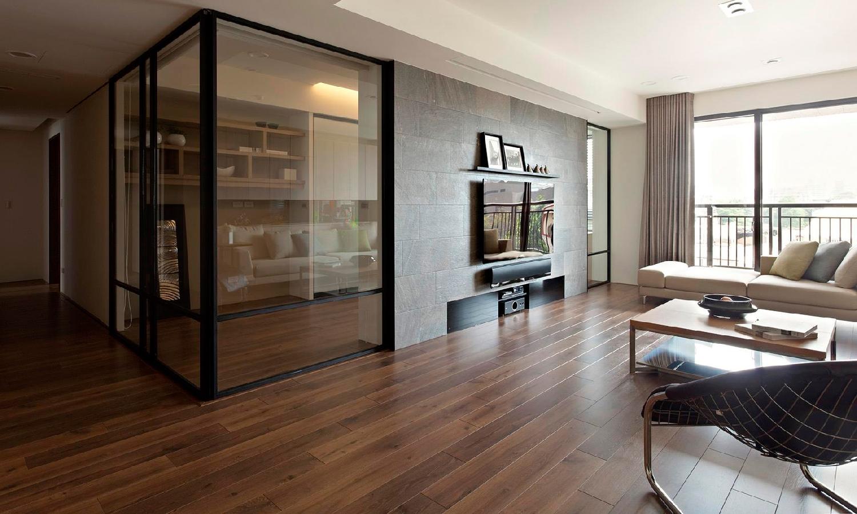 Перегородка в интерьере квартиры