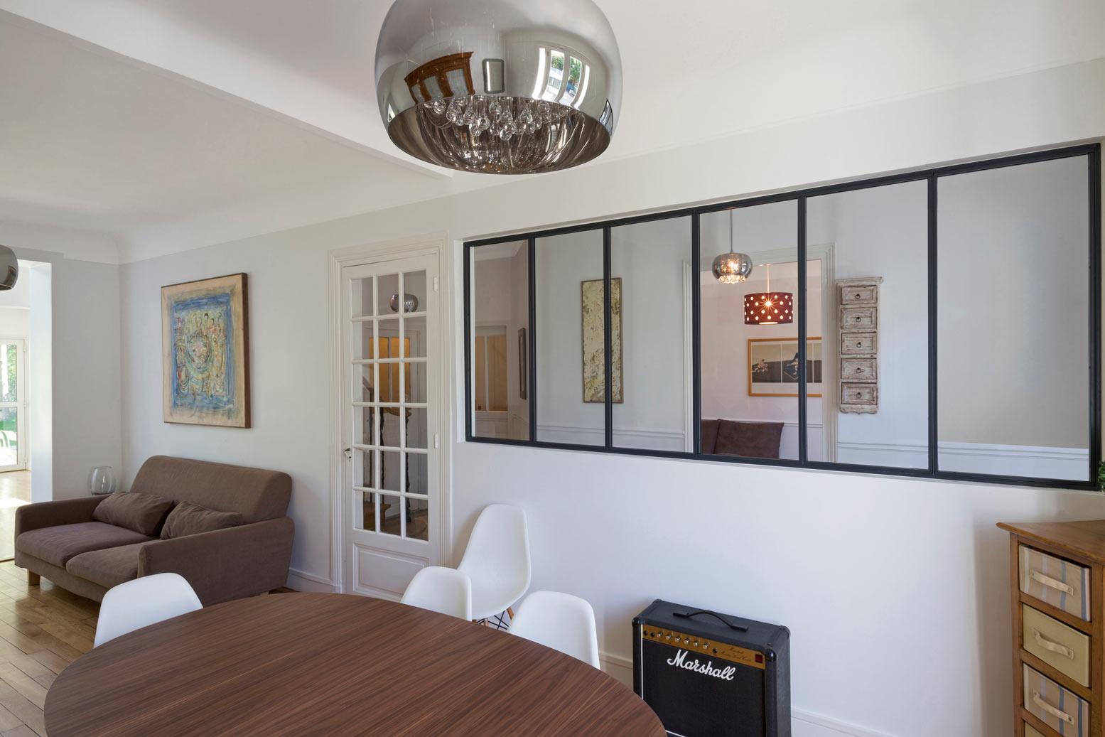 Перегородка между кухней и гостиной в квартире