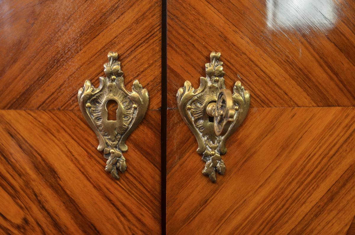 Лакированные двери из палисандра