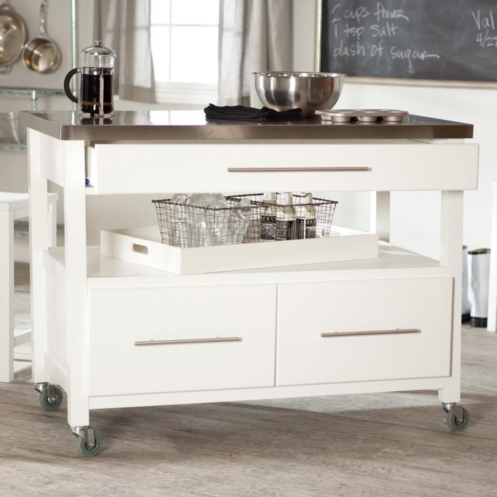 Сервировочный столик в лаконичном дизайне