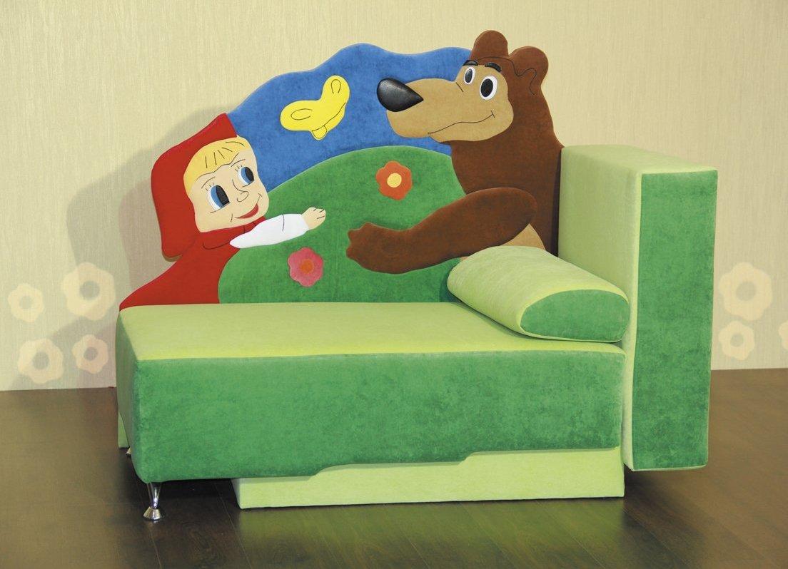 """Детское кресло-кровать """"Маша и Медведь"""""""