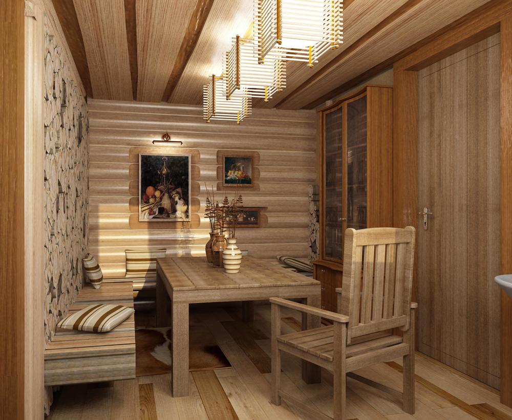 Мебель из массива для бани