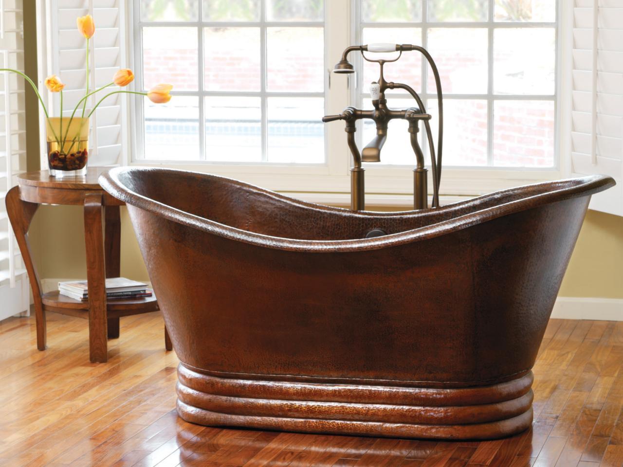Реставрация медной ванны