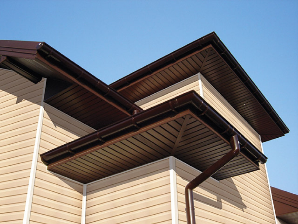 Софиты для крыши из металла