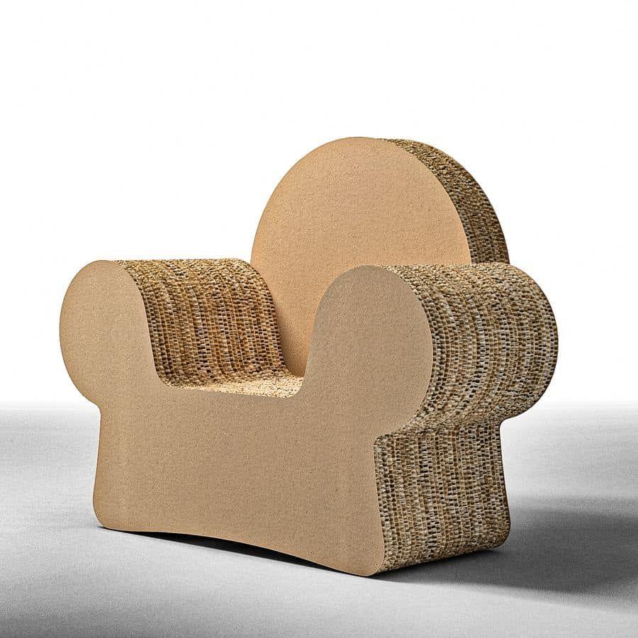 Мебель из картона многослойная для кукольного домика