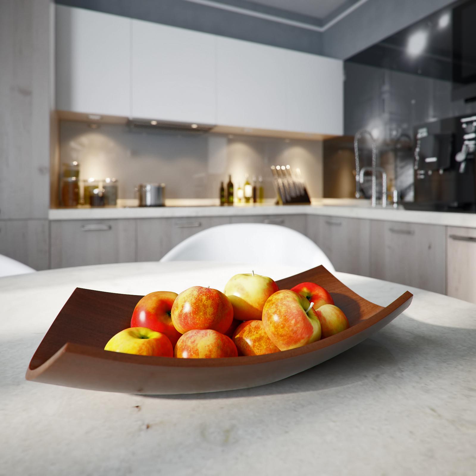 Ваза для фруктов в стиле модерн