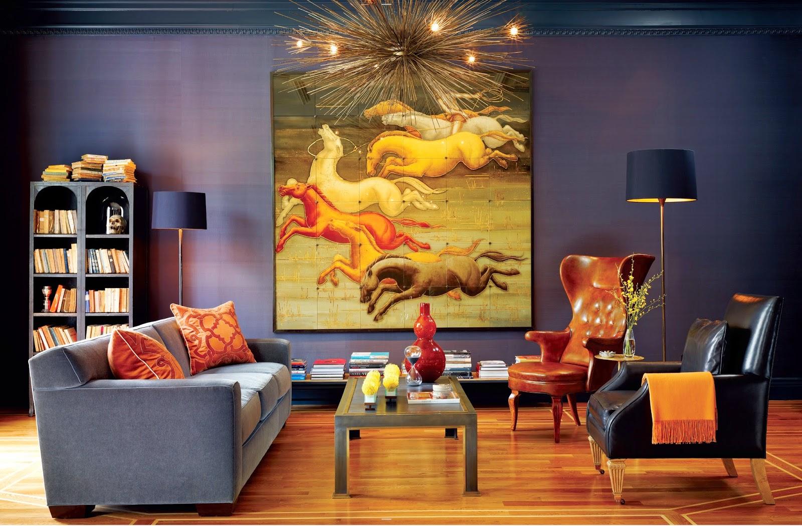 Панорамная картина в стиле модерн