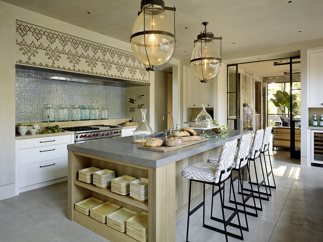 "Кухня ""дуб сонома"" в стиле модерн"