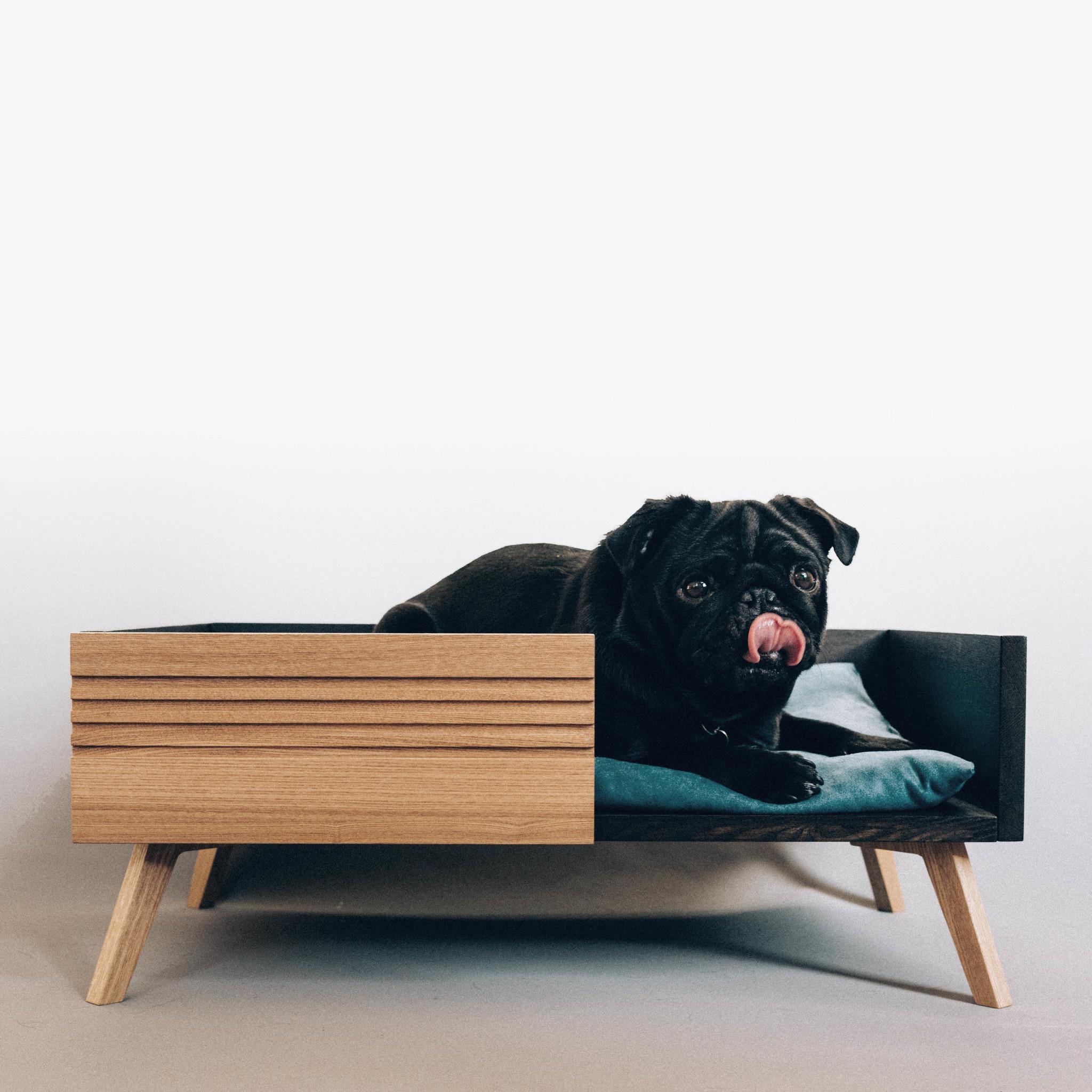 Лежанка для собаки в стиле модерн