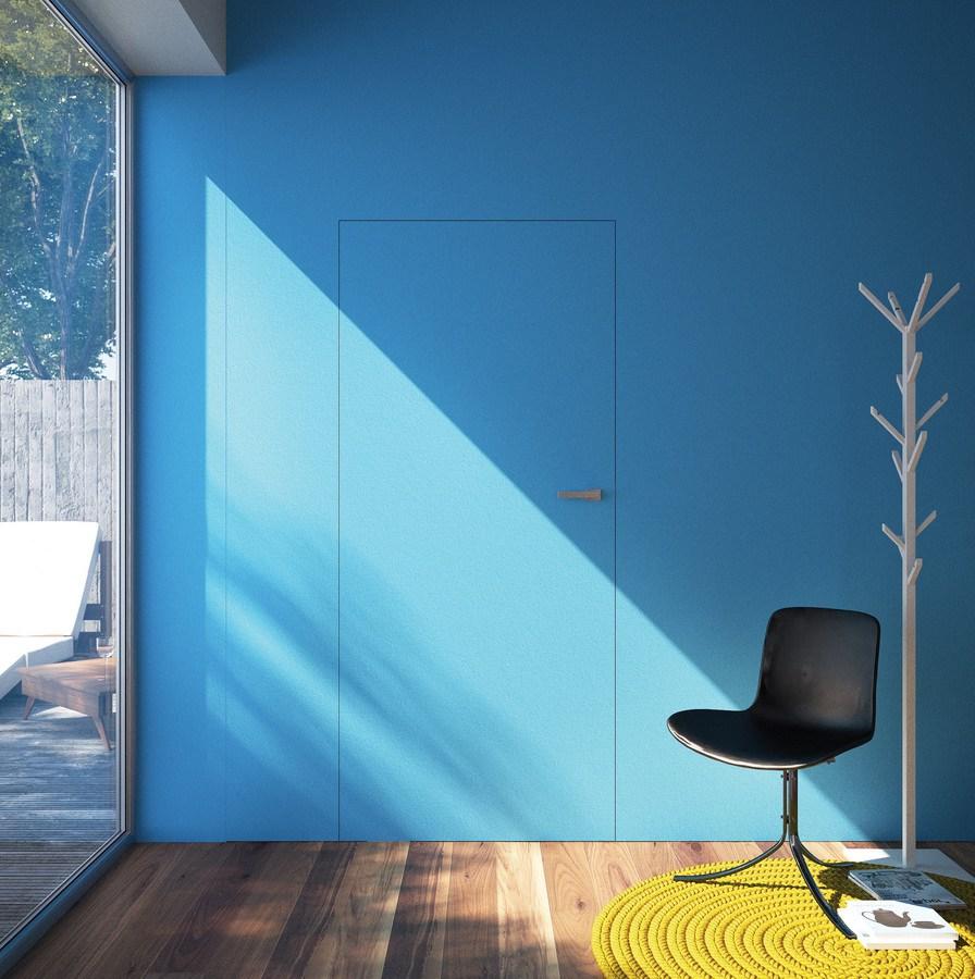 Дверь скрытого монтажа в стиле модерн