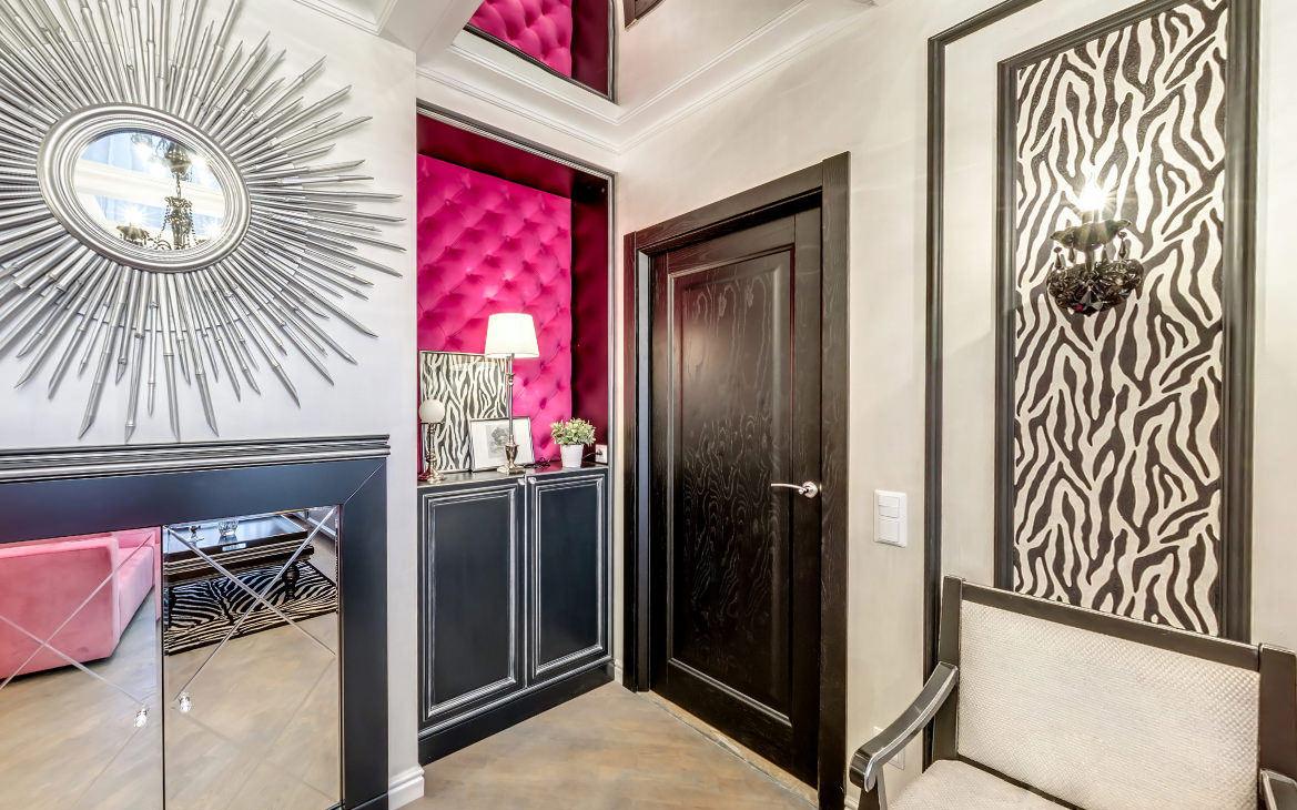 Дверь из палисандра в стиле модерн