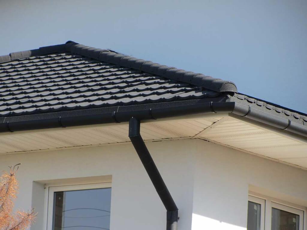 Монтаж софитов для крыши