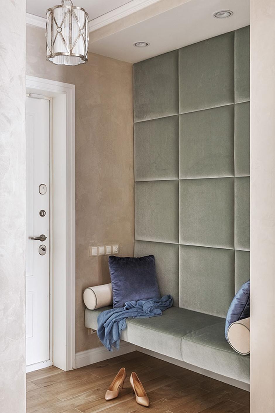 Стеновые панели для коридора мягкие