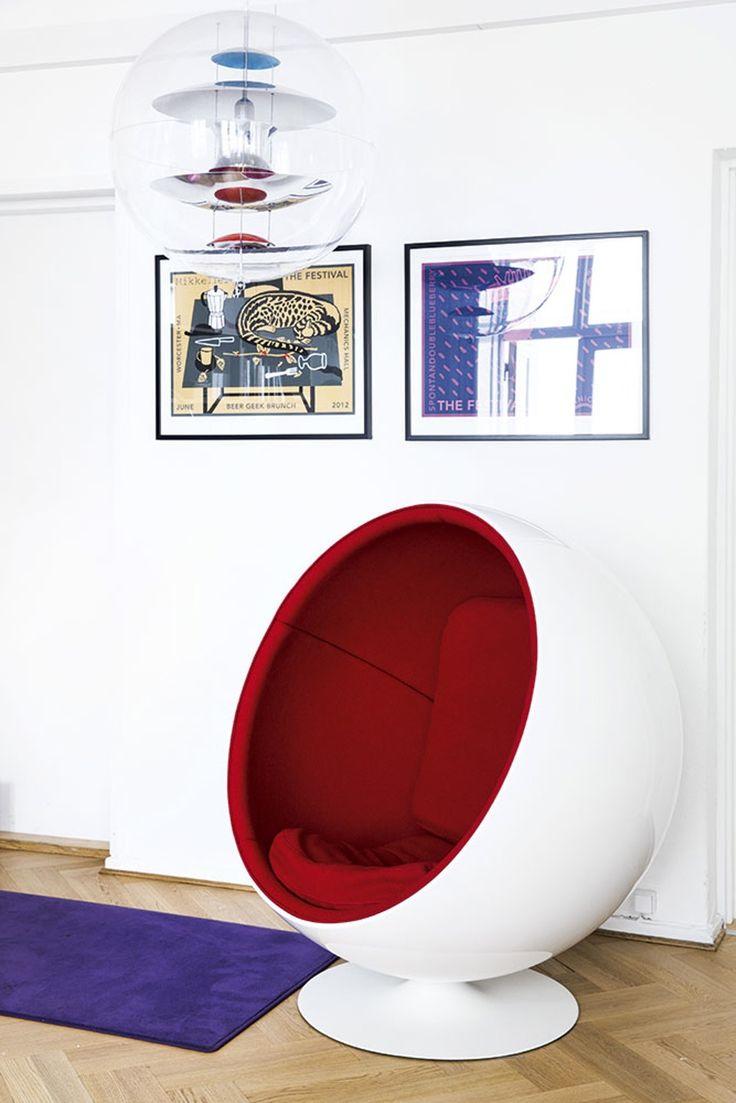 Мягкое кресло-шар