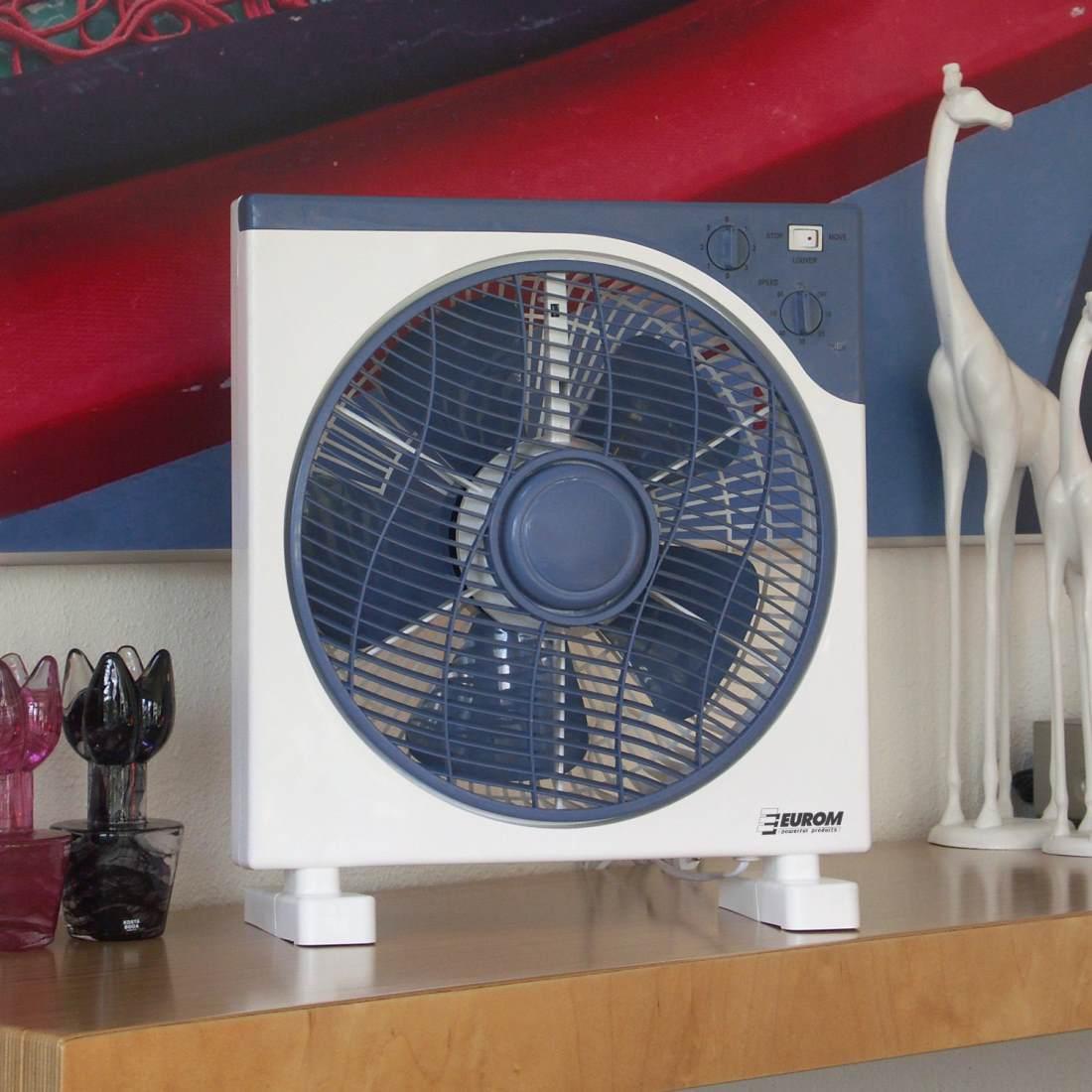 Небольшой напольный вентилятор