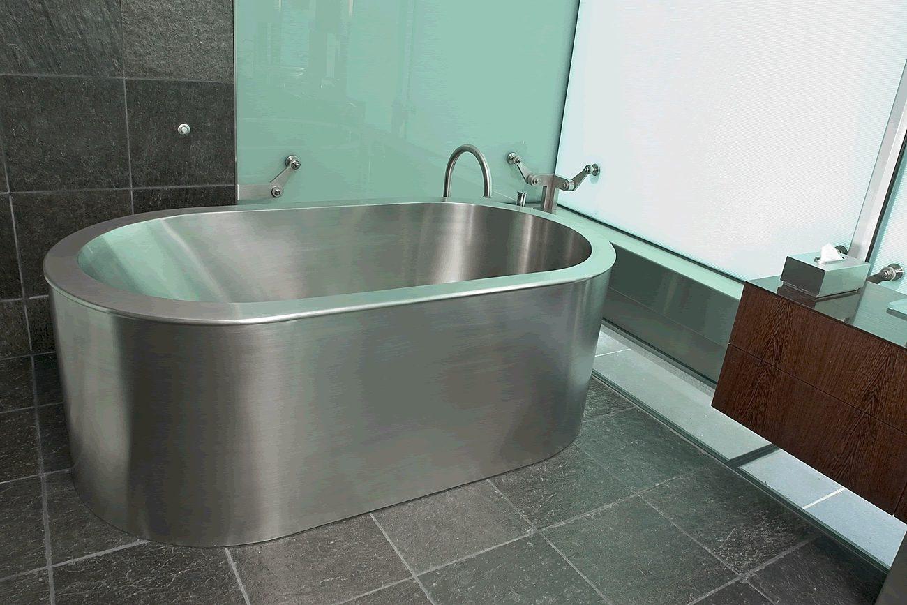 Ванна из нержавеющей стали