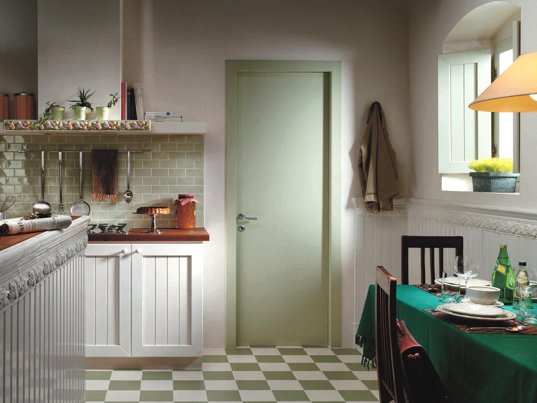 Метлахская плитка оливкового цвета