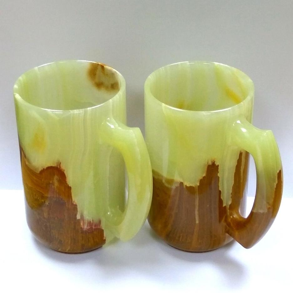 Чашки из оникса