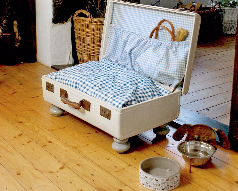 Оригинальная лежанка для собаки