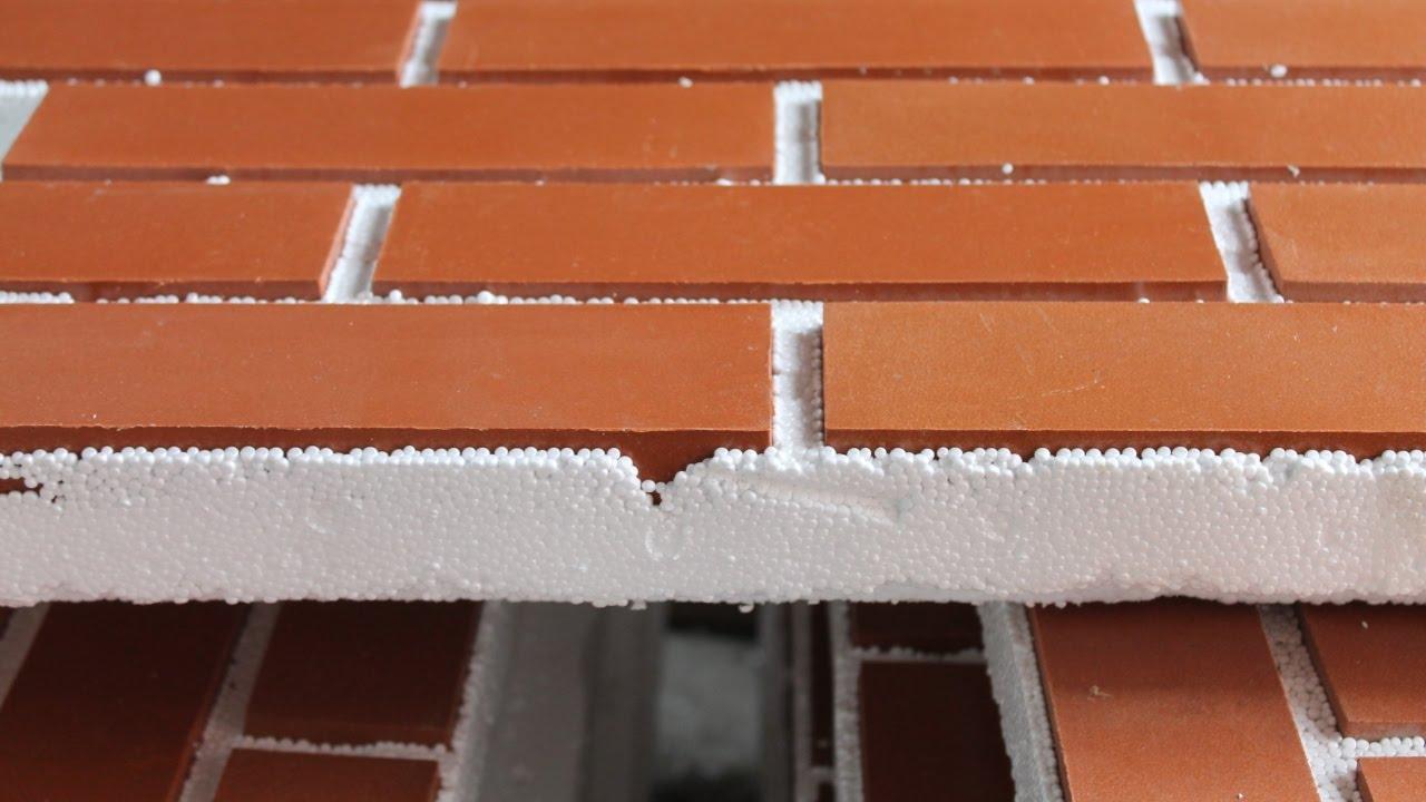 Фасадные термопанели из пенопласта
