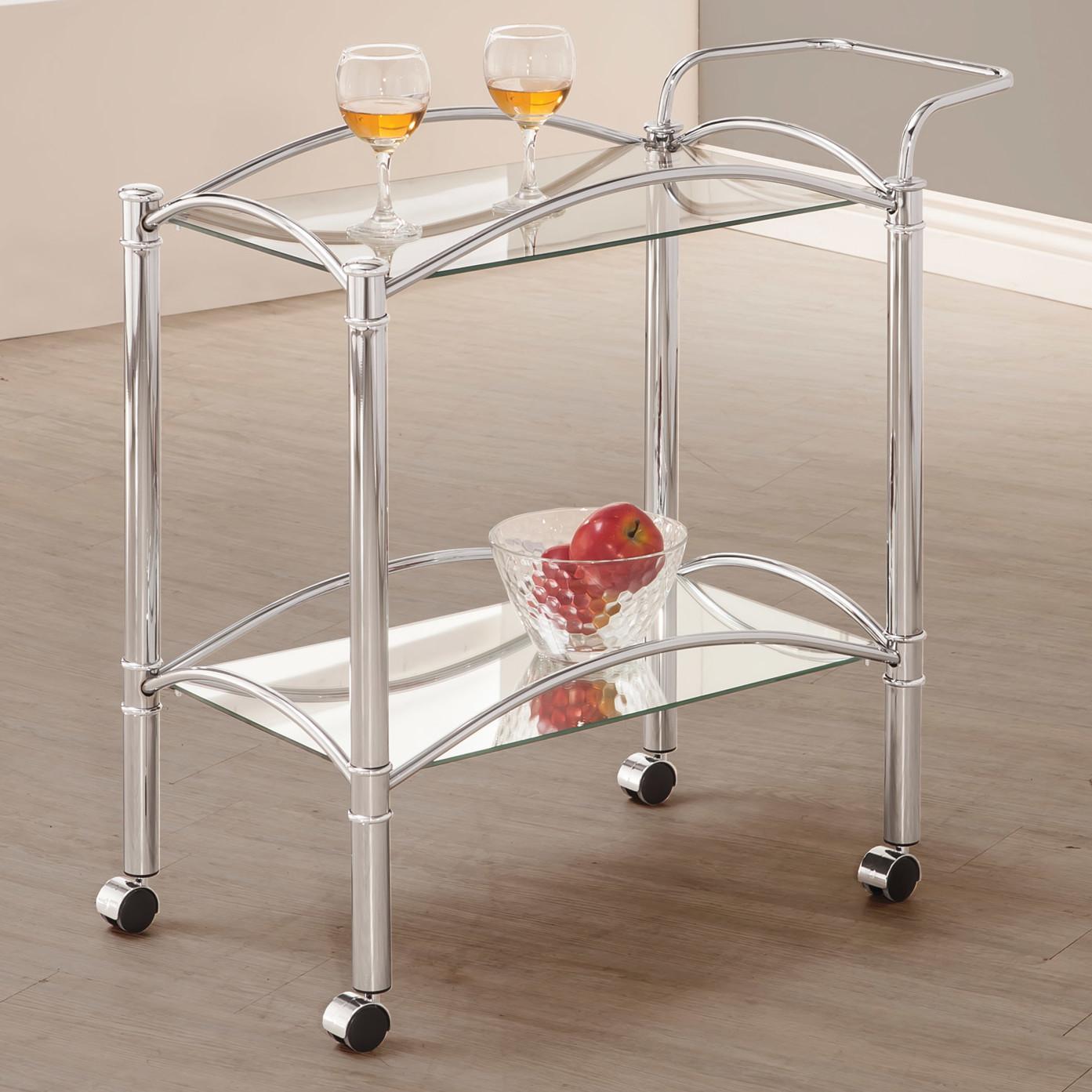 Сервировочный столик из пластика