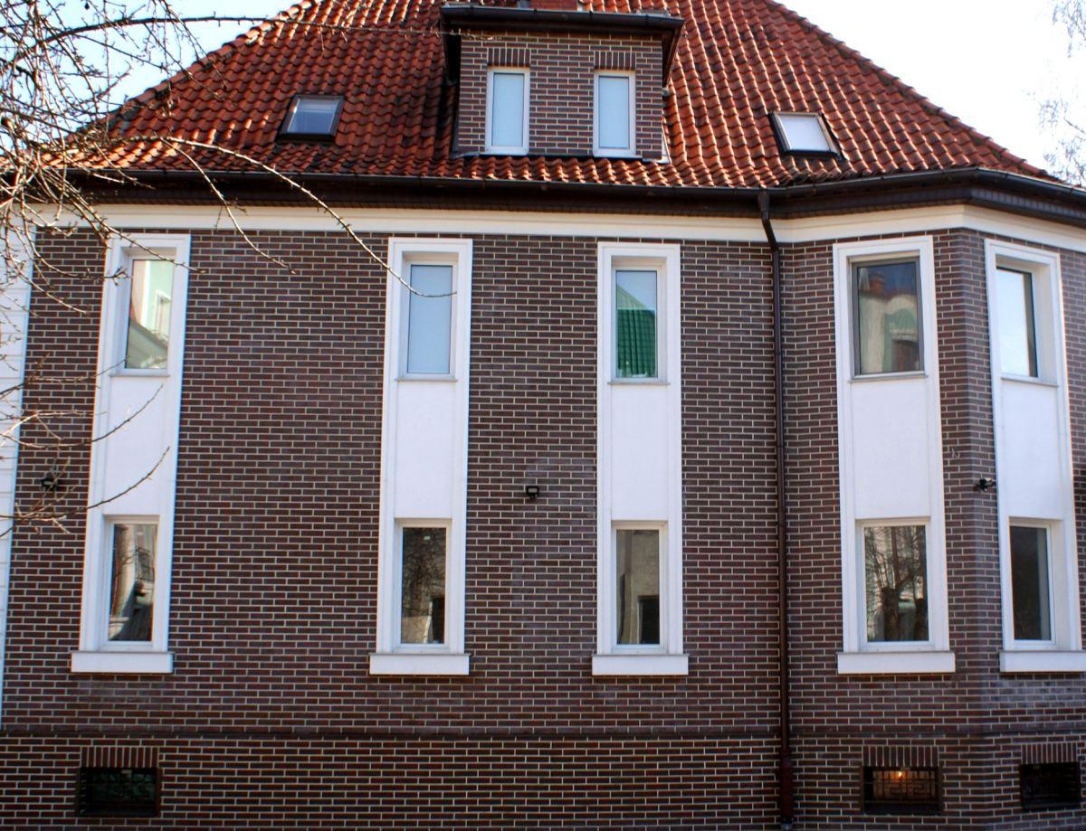 Пластиковые панели под кирпич на фасаде