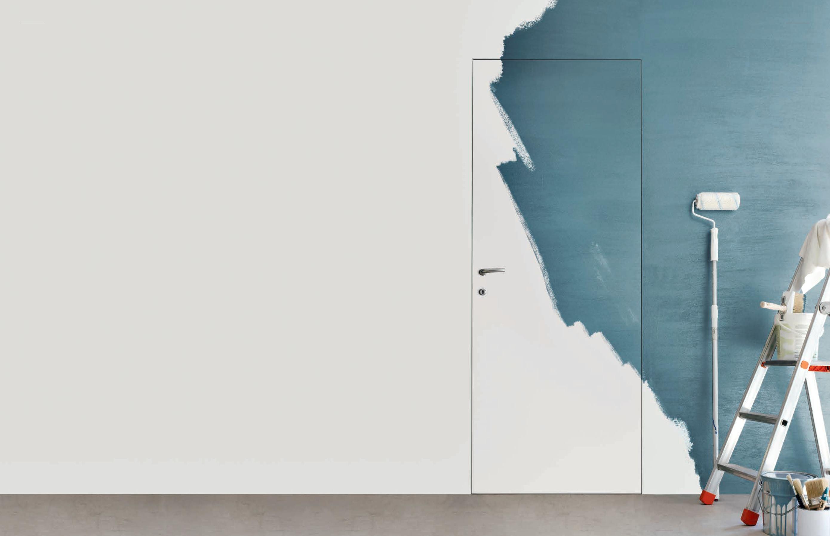 Дверь скрытого монтажа под покраску