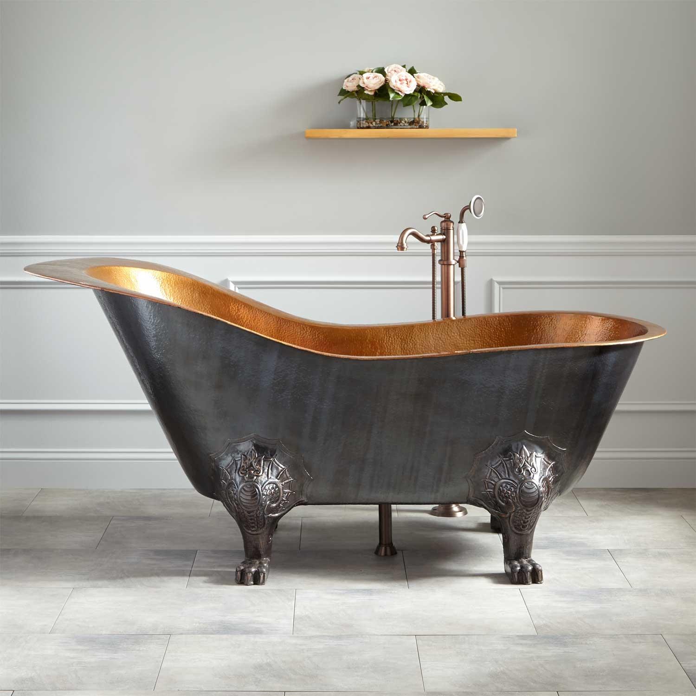 Стальная ванна с подголовником