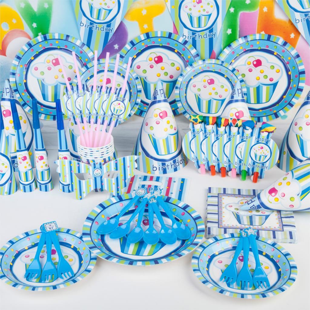 Посуда для оформления детского праздника