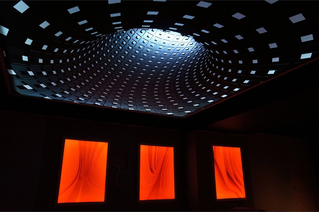 3d-потолок